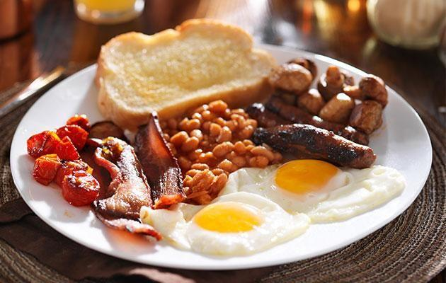 Go for a full breakfast with eggs and you'll feel better than if you didn't. Photo: Getty images