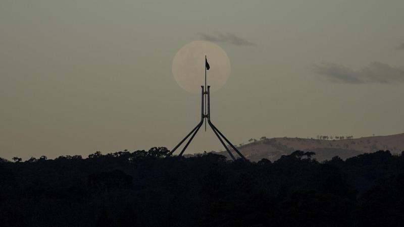 PARLIAMENT HOUSE MOON FEATURE