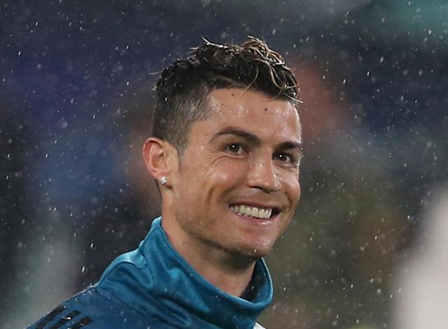 FILE PHOTO: Real Madrid's Cristiano Ronaldo before a recent match in the Champions League REUTERS/Tony Gentile/File Photo