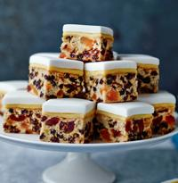 Quick And Easy Christmas Cake Bites Mary Berry