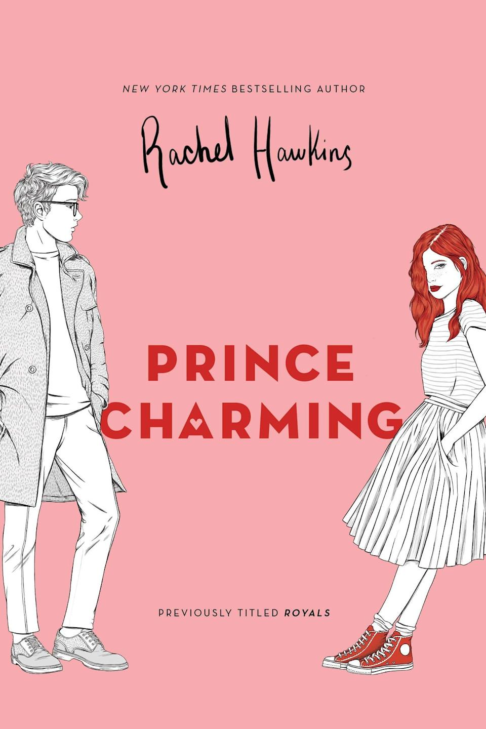 <p>Rachel Hawkins puts a new spin on royal romance with <span><strong>Prince Charming</strong></span>, the first book in her YA <strong>Royals</strong> series. Sixteen-year-old Daisy gets dragged along when her older sister becomes engaged to the Crown Prince of Scotland, but the prince's mischievous younger brother seems hell-bent on stirring up chaos - and taking Daisy along for the ride.</p>