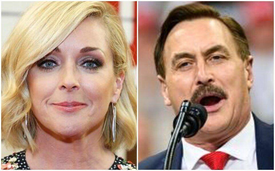 Jane Krakowski and Mike Lindell? Neh-eh, they both say. (Photo: Getty)
