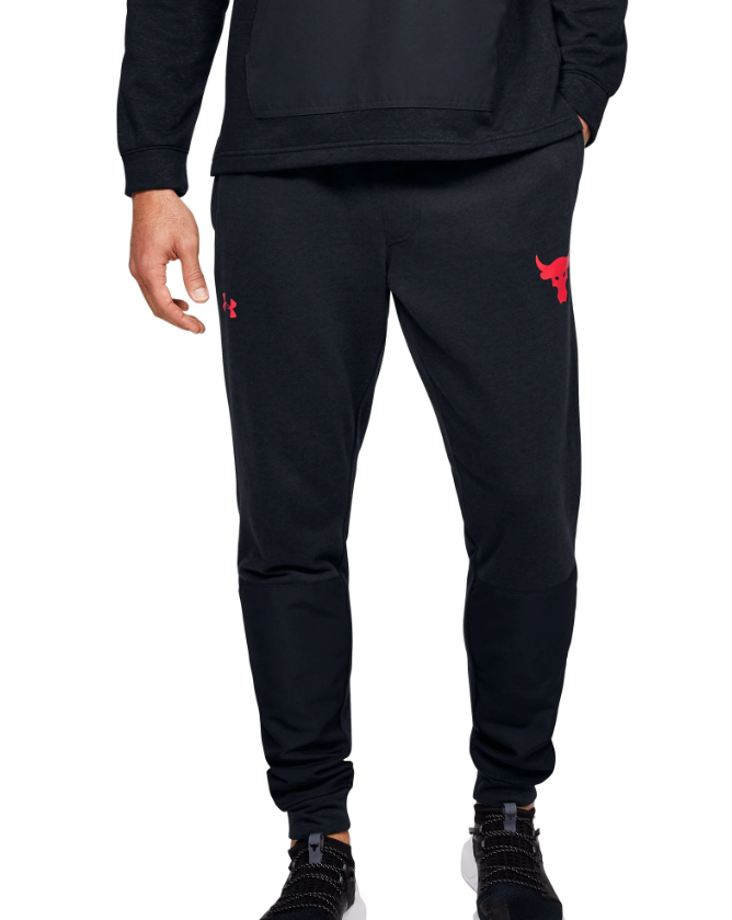 Under Armour Project Rock Terry Fleece Joggers