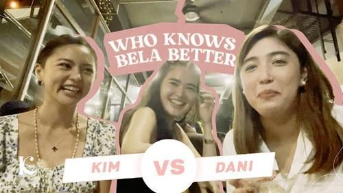 The three girls sure had fun in the 'Who Knows Bela Better' game