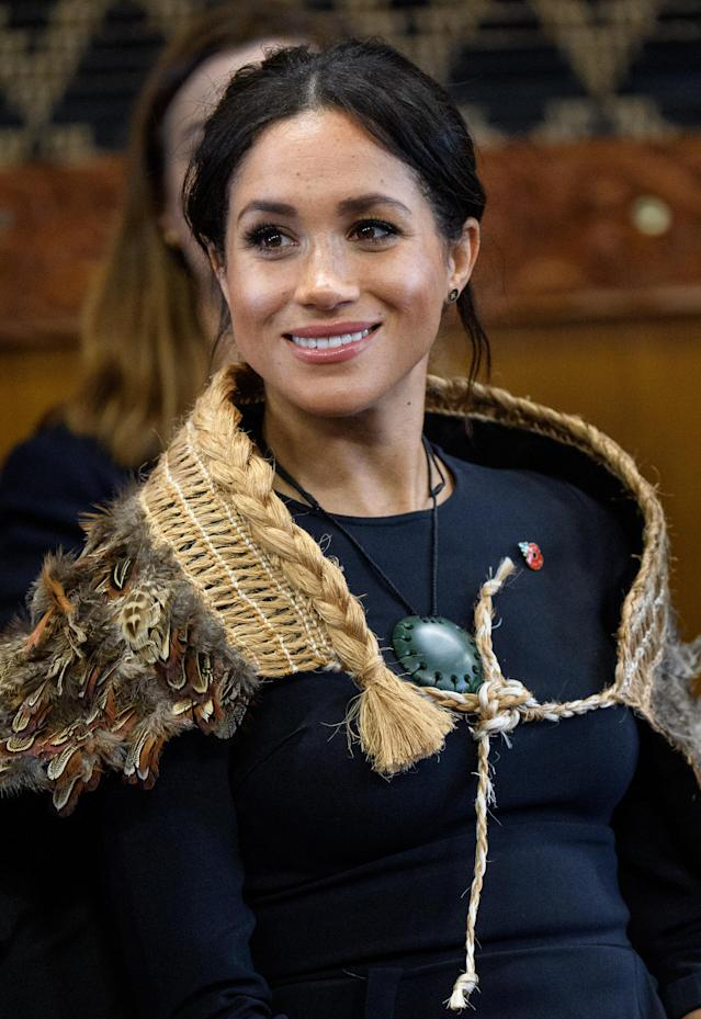 Meghan said feminism is about fairness in a speech in New Zealand. (Getty Images)