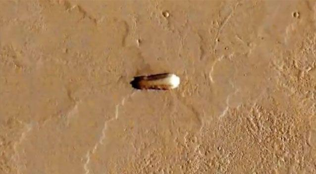 UFO hunters believe they have found an 'alien mothership'. Source: YouTube