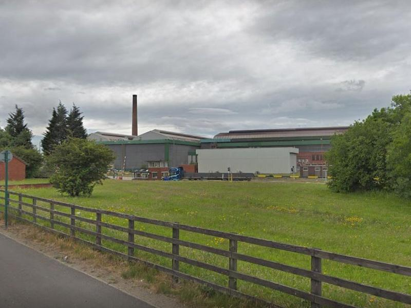 A view of the former British Steel Lackenby Works in Redcar: Google Street View