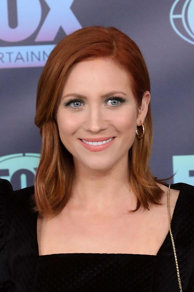 """<p>In May, <a class=""""sugar-inline-link ga-track"""" title=""""Latest photos and news for Brittany Snow"""" href=""""https://www.popsugar.com/Brittany-Snow"""" target=""""_blank"""" data-ga-category=""""Related"""" data-ga-label=""""https://www.popsugar.com/Brittany-Snow"""" data-ga-action=""""&lt;-related-&gt; Links"""">Brittany Snow</a> attended the 2019 Upfront Show.</p>"""