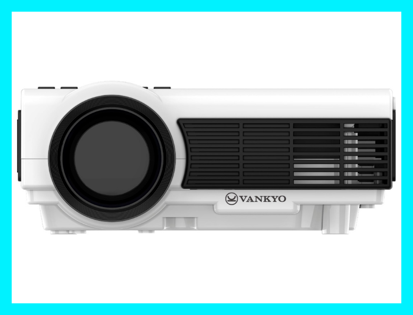 Here's looking at you: This Vankyo Leisure 3W Mini-Digital Projector is on sale for $75, today only! (Photo: Best Buy)