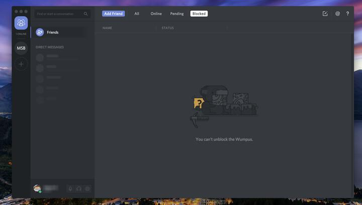 Discord Screenshot Desktop MacOS