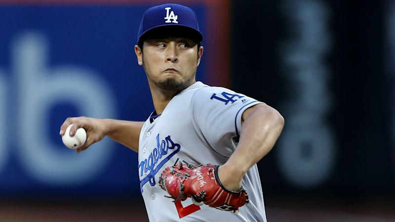 Free agent pitcher Yu Darvish is reportedly considering five teams. (AP)