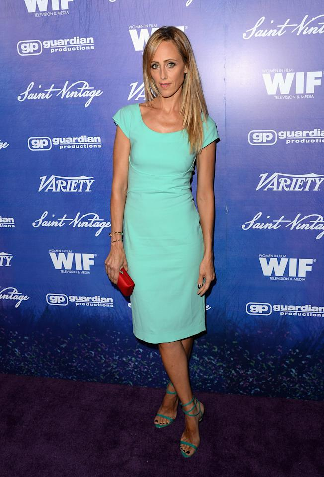 Actress Kim Raver arrives at Variety and Women in Film Pre-EMMY Event presented by Saint Vintage at Montage Beverly Hills on September 21, 2012 in Beverly Hills, California.  (Photo by Jason Merritt/WireImage)