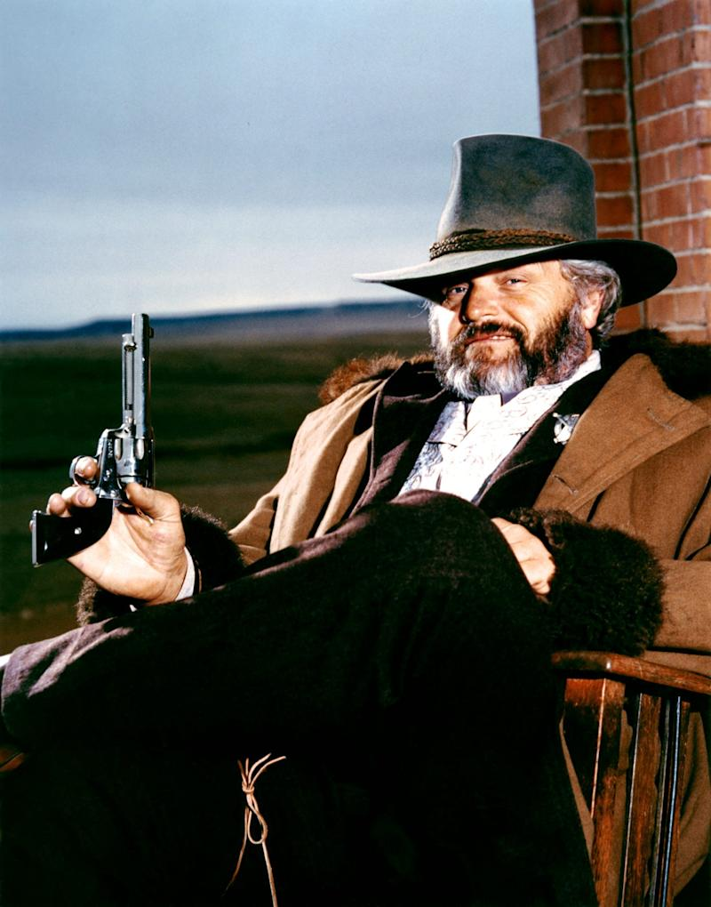 As the corrupt Sheriff Cobb in Silverado, 1985 - Sunset Boulevard/Corbis via Getty Images