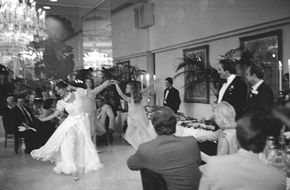 "<p>What would have been on a wedding playlist in 1975? Elton John, Stevie Wonder, the Jackson 5, and the Beatles were favorites, while Joe Cocker's ""You Are So Beautiful"" was released the year before, quickly becoming a popular wedding song selection. Disco was all the rage, too, and the most popular songs were slowly making their way onto wedding playlists, like Carl Douglas's<em> ""</em>Kung Fu Fighting.""</p>"