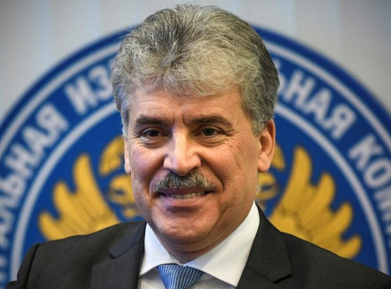 Fruit farmer Pavel Grudinin is the Russian Communist Party's surprise candidate