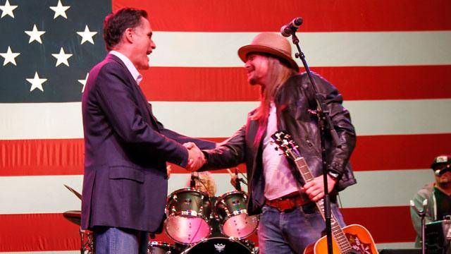Secret Meeting Leads To Kid Rock Jam Session at Romney Rally (ABC News)