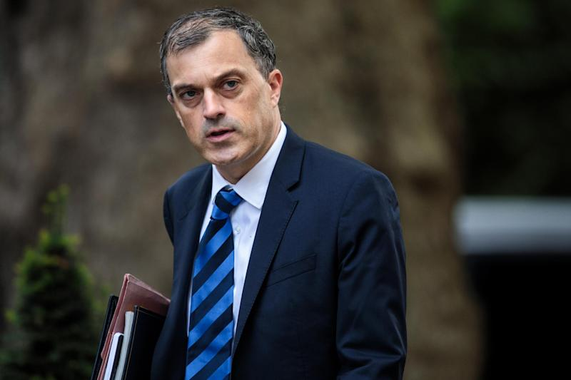 Twisting screws: Chief Whip Julian Smith: (Photo by Jack Taylor/Getty Images): Getty Images