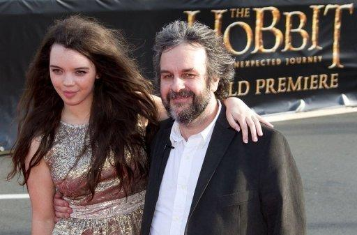 Peter Jackson said it was a relief finally to present the first instalment of his latest saga to fans