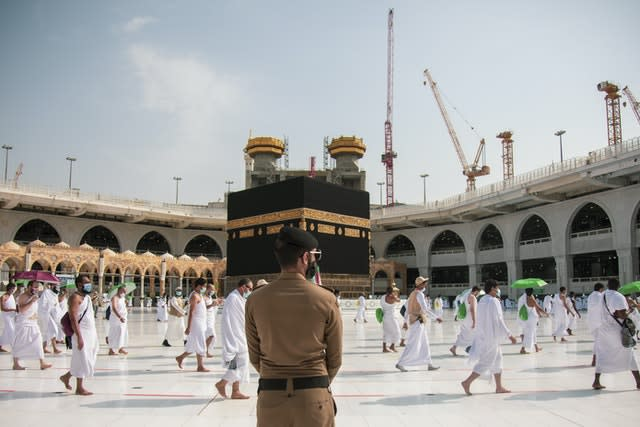 The 2020 Hajj has been socially distanced, in stark contrast to previous years