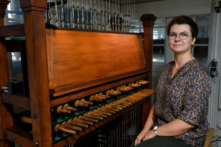 Fiebig is Utrecht's 17th city carillonneur since 1623 and she tries to make the ancient instrument more accessible to modern audiences