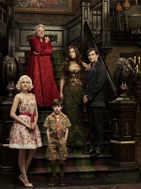 The cast of NBC's 'The Munsters' -- NBC