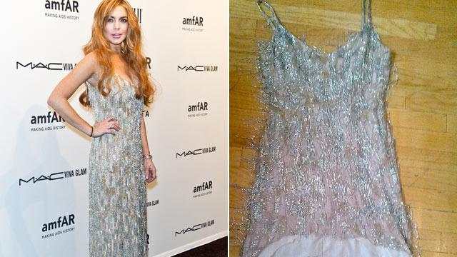 Lohan Reportedly Mangles Loaned Dress (ABC News)
