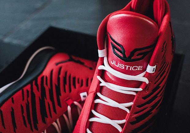 Blake Griffin's special-edition sneakers, known as the 'Just 5.' (Courtesy of BlakeKicksCancer.com)