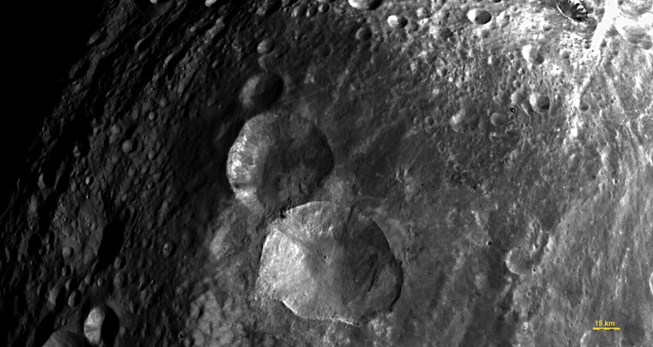 This image of the Asteroid Vesta, released by NASA/Jet Propulsion Laboratory on Monday, August 1, 2011, was captured by the Dawn spacecraft on July 24, 2011 at a distance of 3,200 miles (5,200 kilometers). Dawn entered orbit around Vesta on July 15, and will spend a year orbiting the body. After that, the next stop on its itinerary will be an encounter with the dwarf planet Ceres. (AP Photo/NASA, Jet Propulsion Laboratory)