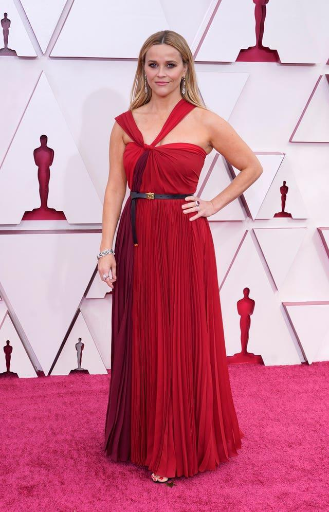 Reese Witherspoon at the 93rd Academy Awards