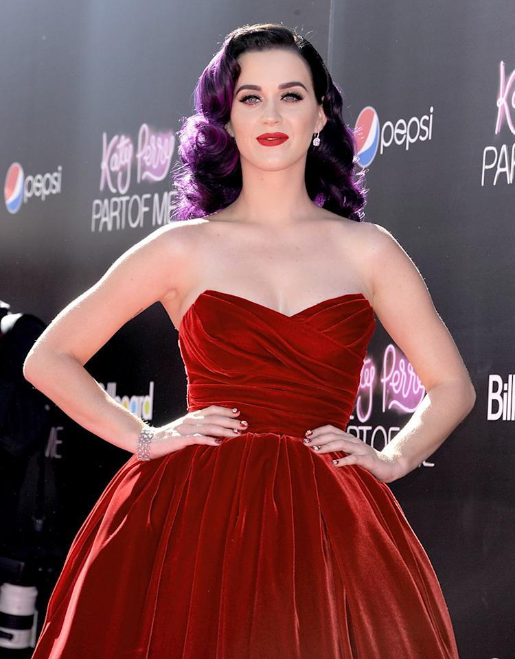 "Premiere Of Paramount Insurge's ""Katy Perry: Part Of Me"" - Red Carpet"