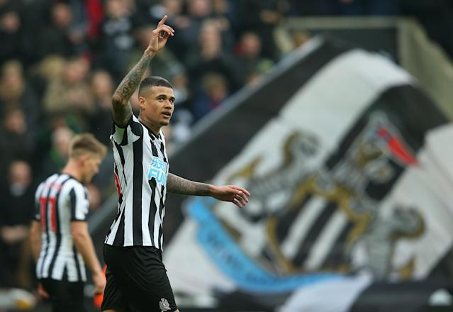 Kenedy bagged two goals, and Newcastle lifted itself five points clear of the relegation zone. (Getty)