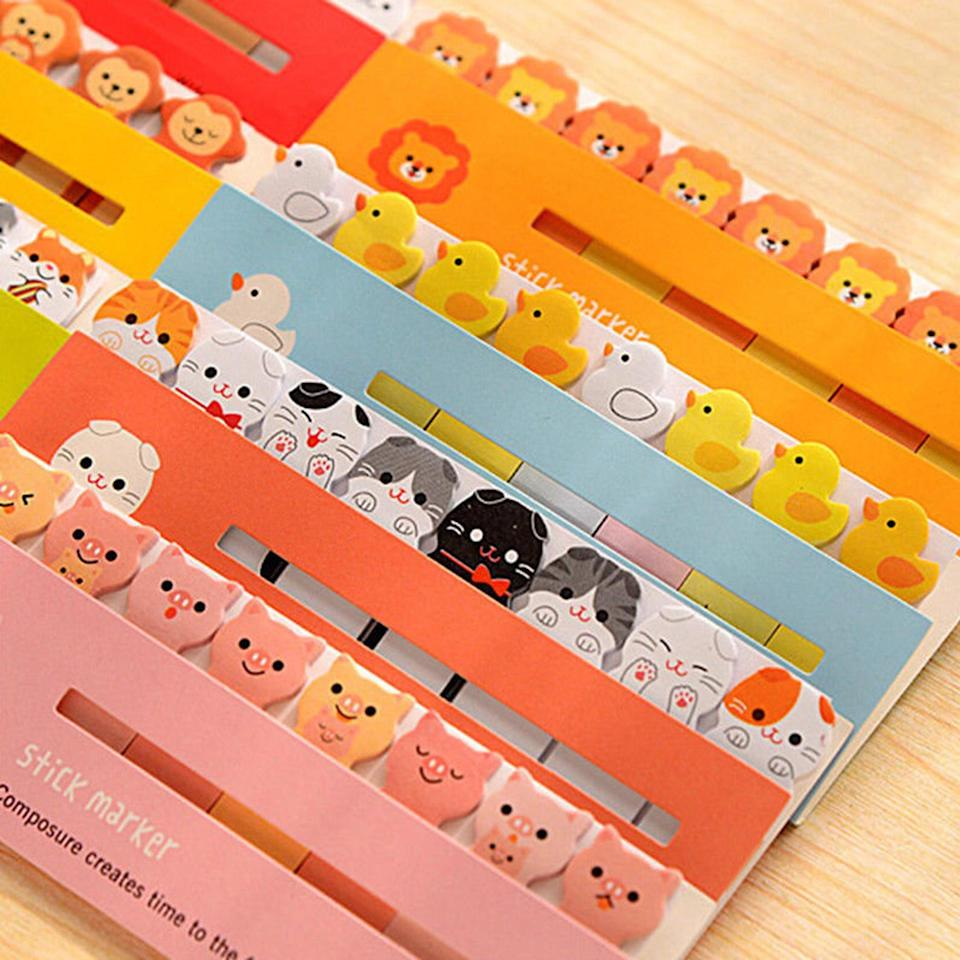 "<br><br><strong>YouBuyWeShip</strong> Adorable Animal Sticky Note Set, $, available at <a href=""https://go.skimresources.com/?id=30283X879131&url=https%3A%2F%2Fwww.etsy.com%2Flisting%2F760099135%2Fadorable-animal-sticky-note-set-cute"" rel=""nofollow noopener"" target=""_blank"" data-ylk=""slk:Etsy"" class=""link rapid-noclick-resp"">Etsy</a>"
