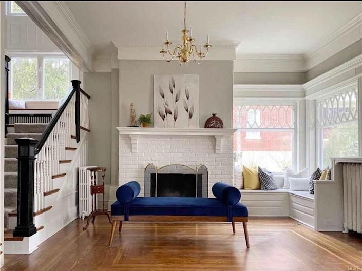 Christine D'Ercole's recently purchased Dutch Colonial in Allentown, Pennsylvania, is in the process of a DIY facelift.