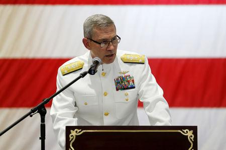 Top US naval commander Scott Stearney found dead in Bahrain