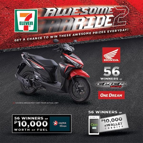 7-11 Awesome Ride 2.0