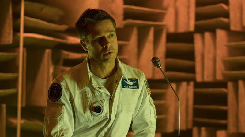 Brad Pitt has been tipped for a potential Oscar for his work in 'Ad Astra'. (Credit: 20th Century Fox)