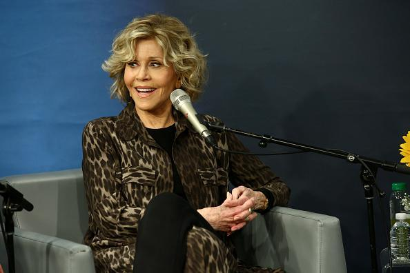 """Jane Fonda expresses regret about getting plastic surgery in her HBO documentary, saying she wishes she were """"braver."""" (Photo: Astrid Stawiarz/Getty Images for SiriusXM)"""