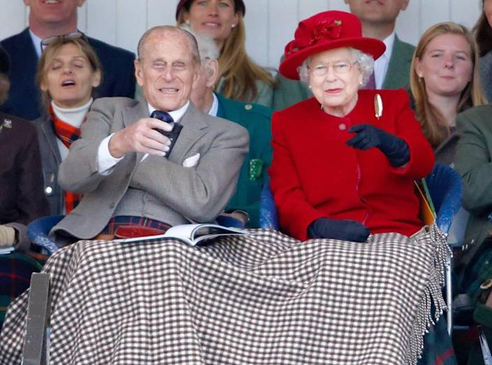 Queen Elizabeth ll, Prince Philip the Duke of Edinburgh, 2015, Widget