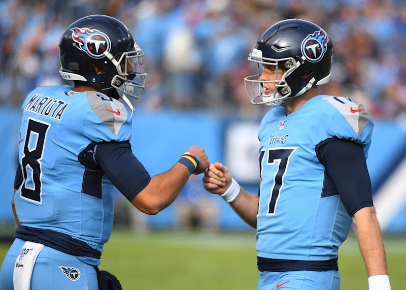Ryan Tannehill has high praise for Marcus Mariota