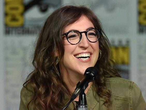 Mayim Bialik doesn't like watching herself on television (Getty)