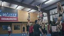 """<p>Cheerleaders will love the way this docuseries dives into the gripping and intense world of competitive cheerleading. With behind-the-scenes footage of practice and competitions, the series follows the Navarro College squad as they compete for a coveted-national title.<br></p><p><a class=""""link rapid-noclick-resp"""" href=""""https://www.netflix.com/title/81039393"""" rel=""""nofollow noopener"""" target=""""_blank"""" data-ylk=""""slk:WATCH NOW"""">WATCH NOW</a></p><p><strong>RELATED:</strong> <a href=""""https://www.goodhousekeeping.com/life/entertainment/a30583453/cheer-netflix-cast/"""" rel=""""nofollow noopener"""" target=""""_blank"""" data-ylk=""""slk:How to Keep Up With Netflix's 'Cheer' Cast After You're Done Binging"""" class=""""link rapid-noclick-resp"""">How to Keep Up With Netflix's 'Cheer' Cast After You're Done Binging</a></p>"""