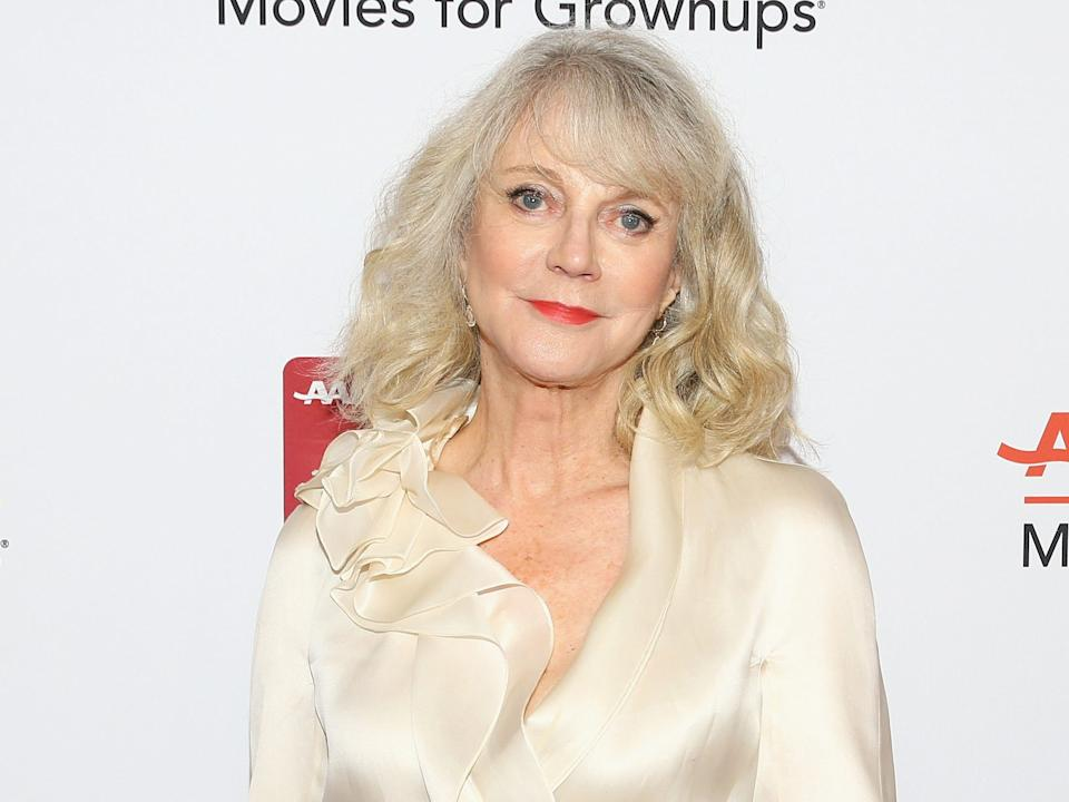 "Blythe Danner attends AARP The Magazine's17th Annual Movies For Grownups Awards in 2018. <p class=""copyright"">Gabriel Olsen/Getty Images</p>"