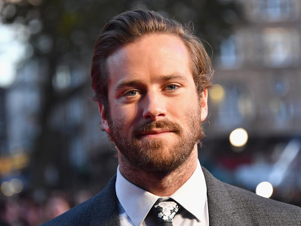 <p>Armie Hammer has 'requested to step away' from upcoming feature Shotgun Wedding amid social-media scandal</p> (Getty Images)