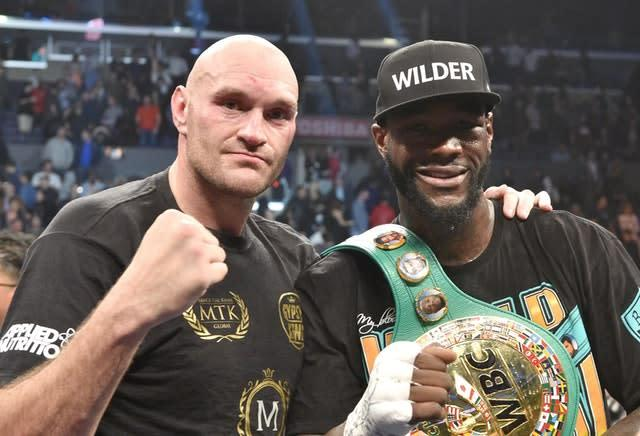 Tyson Fury will take on Deontay Wilder for a second time next month (Lionel Hahn/PA)