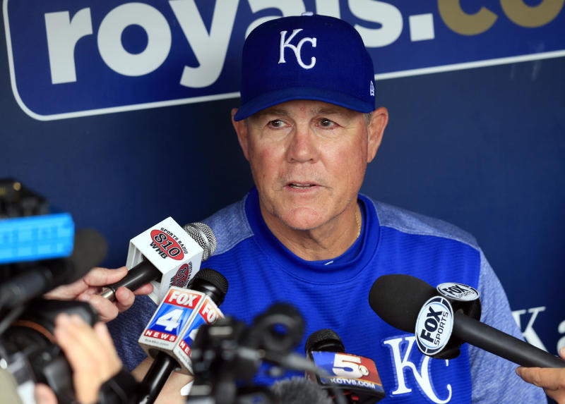 Royals manager Ned Yost said he could have died after fall from a tree last week. (AP)