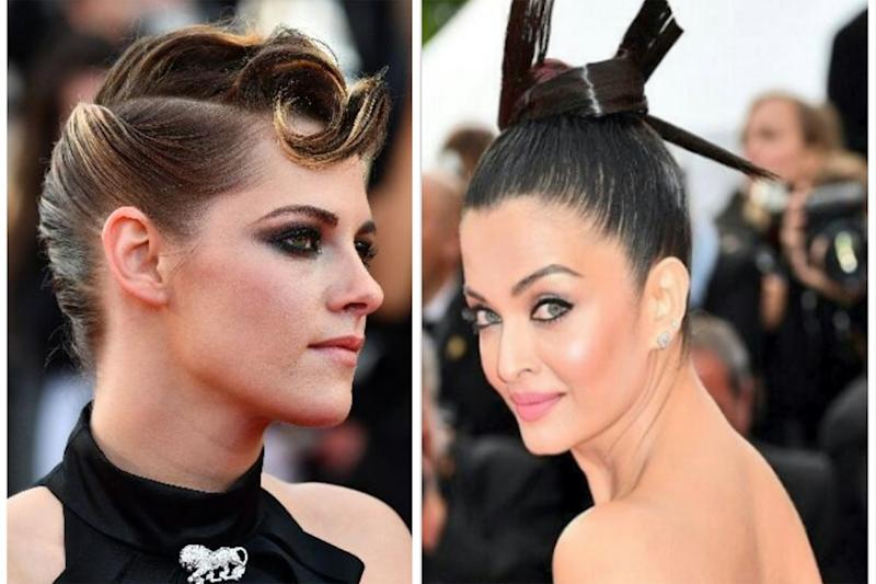 The Hair Updo Gets An Update At Cannes