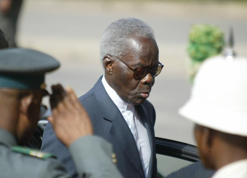Benin's then-president Mathieu Kerekou, pictured on January 31, 2005, has died at the age of 82 (AFP Photo/Pius Utom Ekpei)