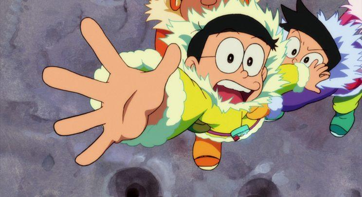 Nobita and friends in