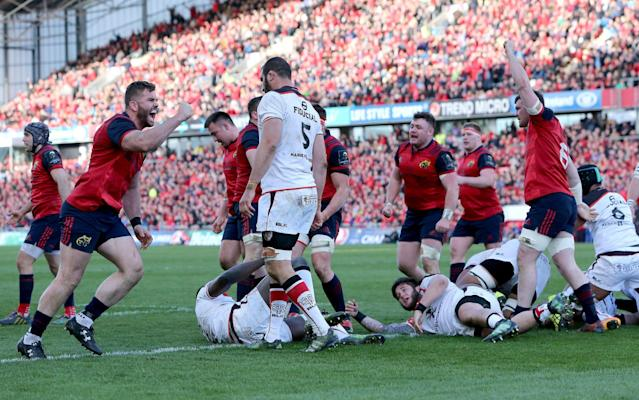 <span>Munster have rested several key players</span> <span>Credit: REX FEATURES </span>
