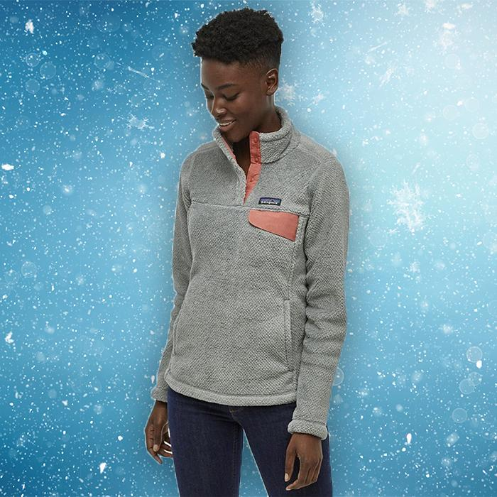 Patagonia nails it every time, with plush fleece in cool color combos. (Photo: Backcountry)